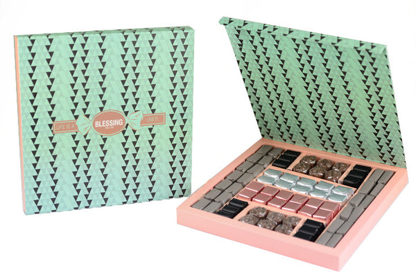 74 Pcs Patterned Prepacked box