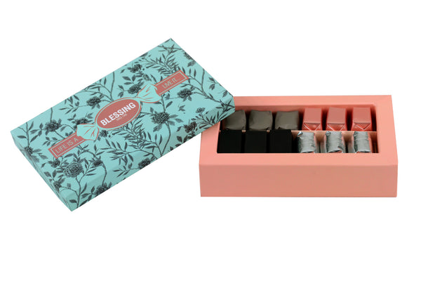 12 Pcs Floral Prepacked box