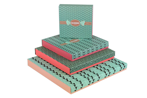 15 Pcs Patterned Prepacked box