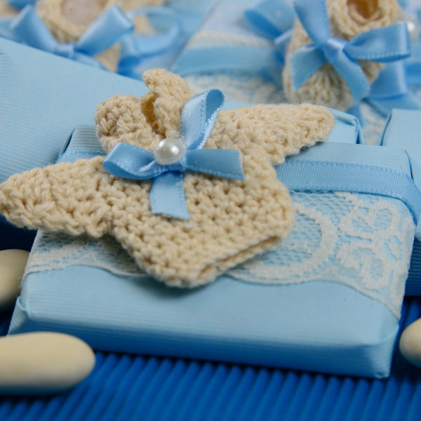 Crochet Baby Shirt Chocolate - Pack of 12 pcs