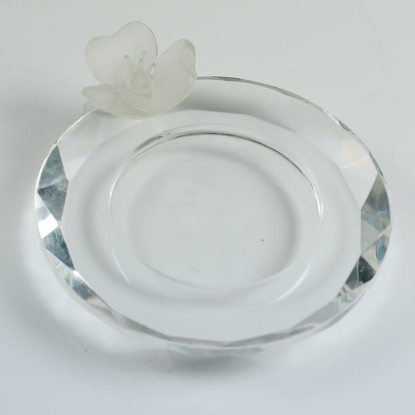 Crystal Orchid Plate