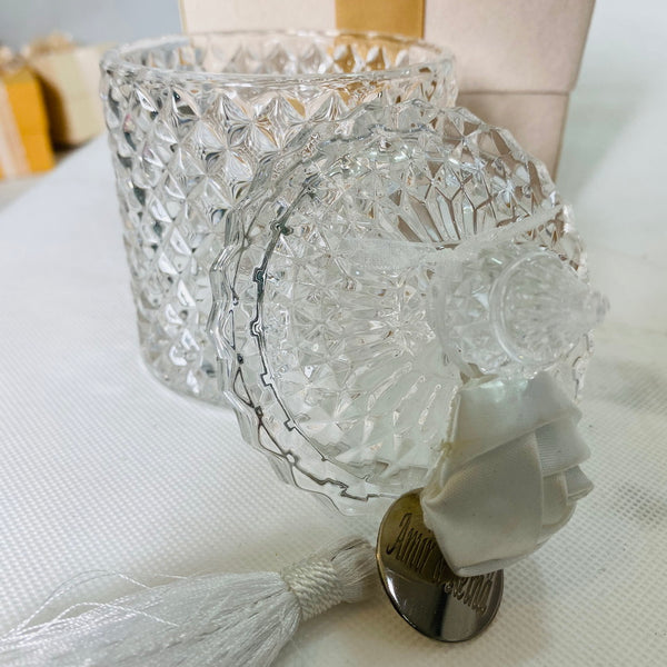 Elegant Glass Souvenir