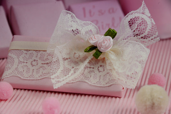 Lace Bow Chocolate - Pack of 16 pcs