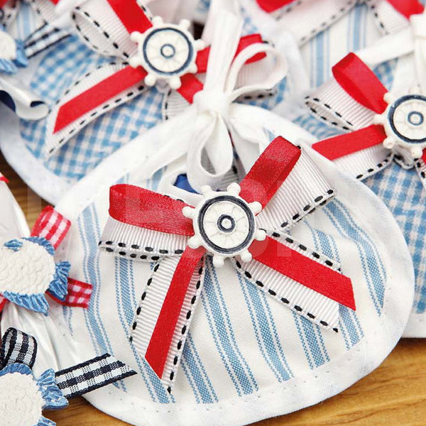 Marine Theme Chocolate Bib - Pack Of 12 Pcs