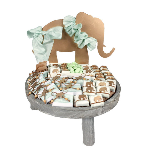 Elephant Wooden Tray