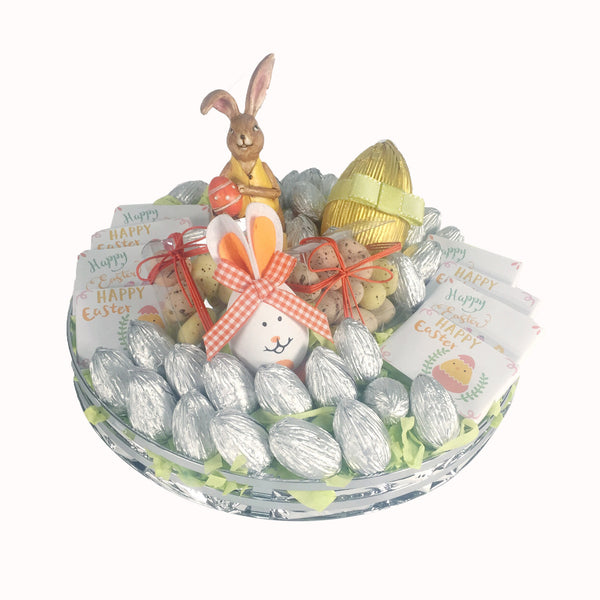 Easter Silver Tray