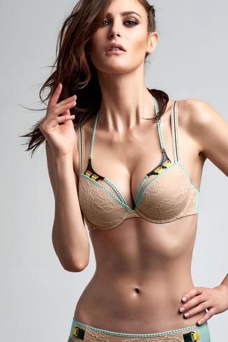 Kunoichi Maple Sugar Push Up Bra