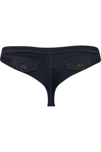 Calamity Jane Blue Jeans 4cm Thong