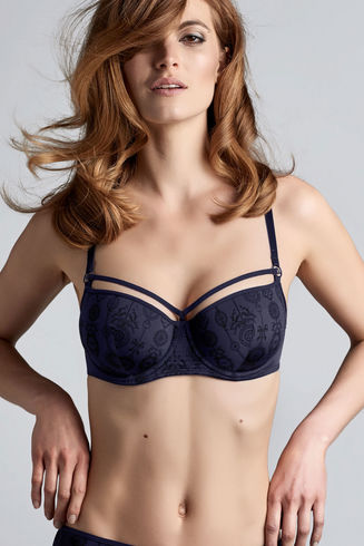 Space Odyssey Evening Blue Balcony Bra
