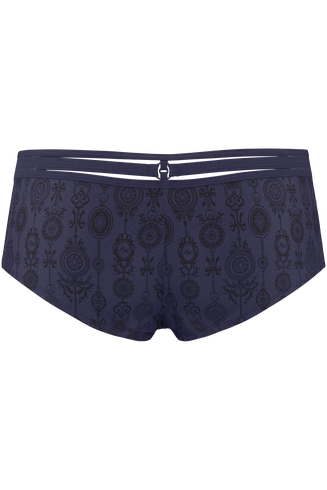 Space Odyssey Evening Blue 12cm Brazilian Shorts