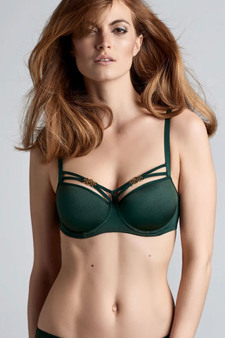 Forever Secret Forest Green Plunge Balcony