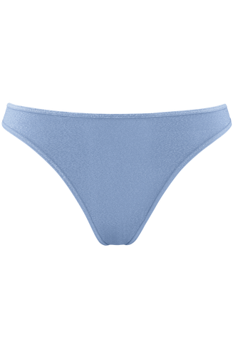 Space Odyssey Sparkling Light Blue 4cm Thong