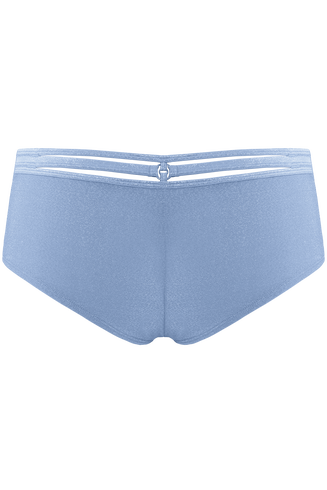 Space Odyssey Sparkling Light Blue 12cm Brazilian Shorts