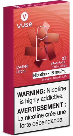 Vuse Pods - Lychee 2pk