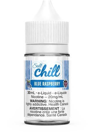 BLUE RASPBERRY SALT BY CHILL E-LIQUIDS