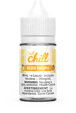 GOLDEN PINEAPPLE SALT BY CHILL E-LIQUIDS