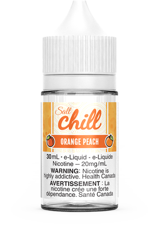 ORANGE PEACH SALT BY CHILL E-LIQUIDS