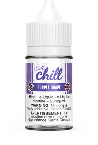 PURPLE GRAPE SALT BY CHILL E-LIQUIDS