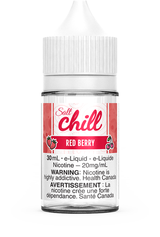 RED BERRY SALT BY CHILL E-LIQUIDS