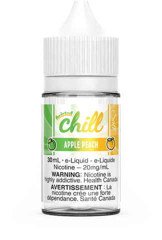 APPLE PEACH SALT BY CHILL TWISTED