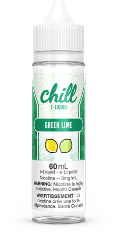 GREEN LIME BY CHILL E-LIQUIDS