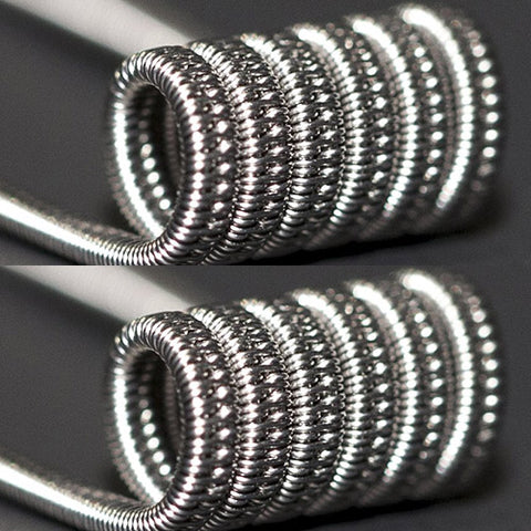 Chuckin' Canucks N80 Staggered Fused Coils (Nichrome) Pack Of 2