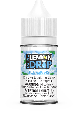 BLUE RASPBERRY BY LEMON DROP ICE SALT
