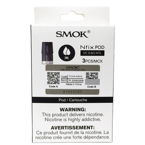 SMOK NFIX REPLACEMENT POD (3PK)
