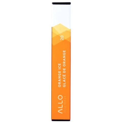 ALLO ORANGE ICE FLAVOR DISPOSABLE