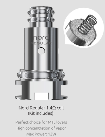 Smok Nord Replacement Coils 5/PK