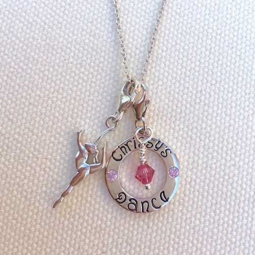 Chrissy's Dance Custom Charm - im keepsakes