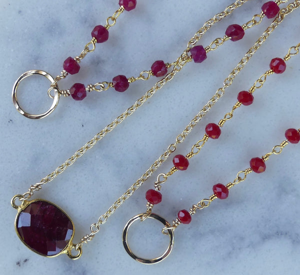 Gold Gemstone Stacking Bracelets - im keepsakes