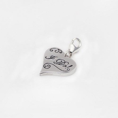 Bridal 'I Do!' Heart Charm - im keepsakes