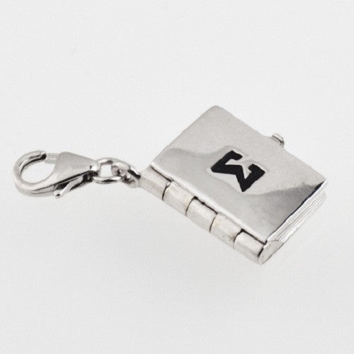 Sterling Silver Open Book Charm - im keepsakes