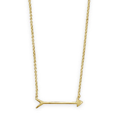 Best Seller! Gold Arrow Necklace - im keepsakes