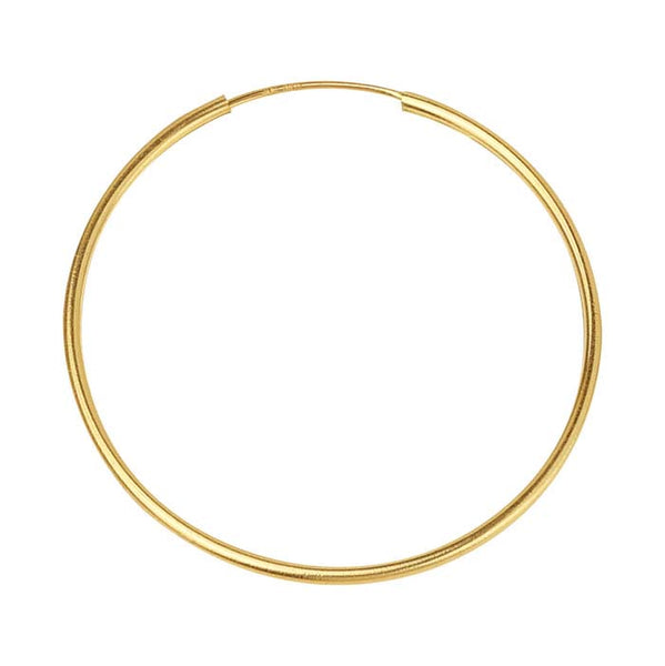 14/20 Gold Fill Endless Hoop Earrings