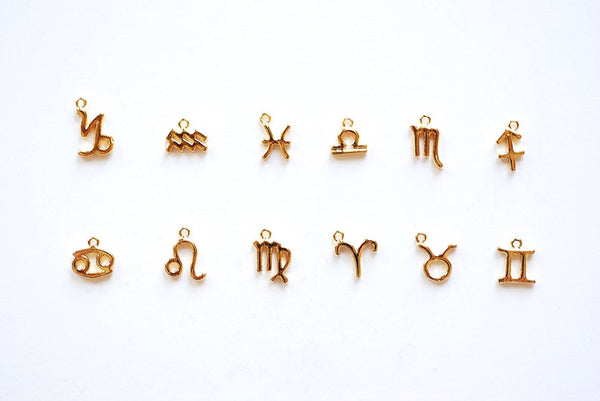 Tiny Zodiac Necklaces | Gold or Silver