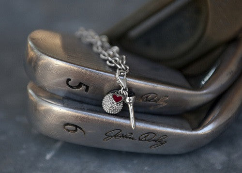 Sterling Silver Golf Charm - im keepsakes