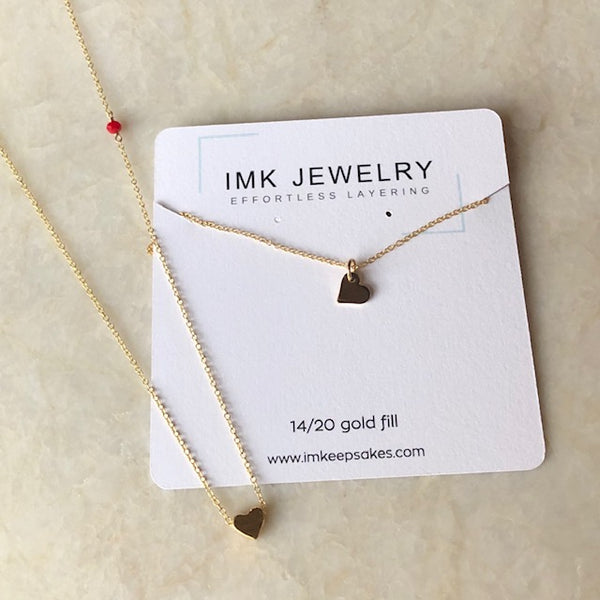 Tiny Hearts Choker Necklaces - im keepsakes