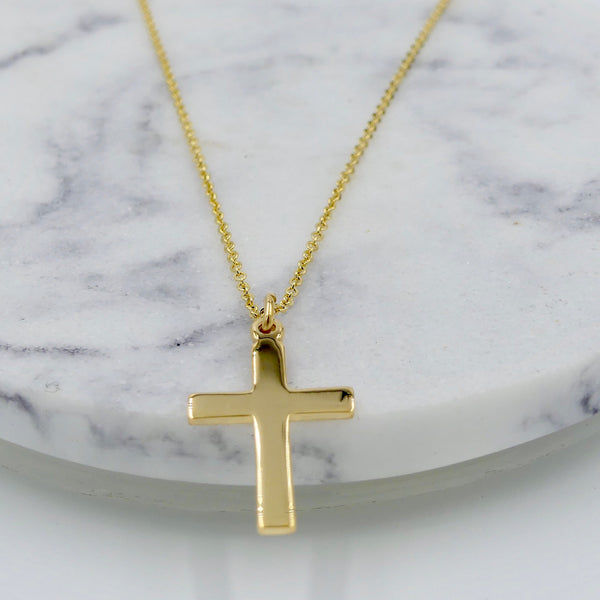14k Goldfilled Cross Necklace - im keepsakes