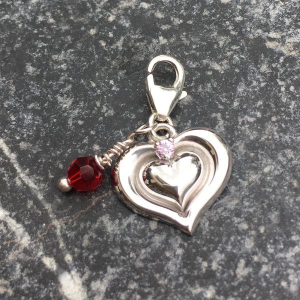 Mother and Daughter - Gift to the Heart Charm - im keepsakes