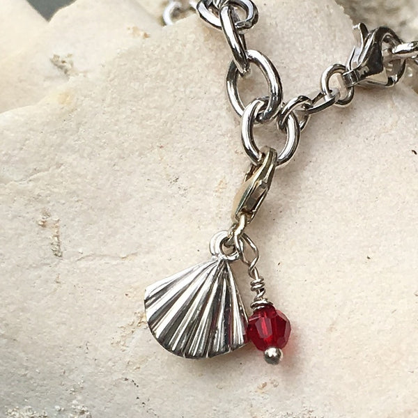 Oyster Shell Charm - Beauty Within - im keepsakes
