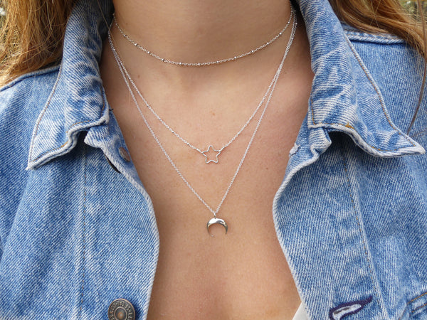 Gold or Silver Horn Necklace - Small - im keepsakes