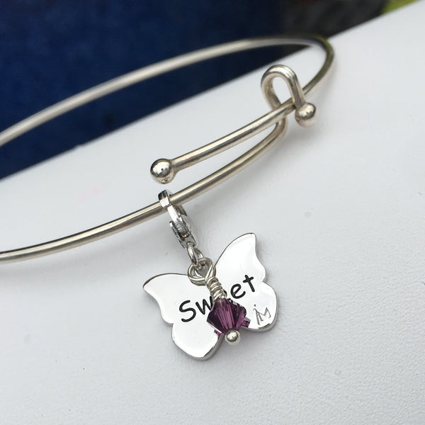 Sweet 13 Butterfly Charm - im keepsakes