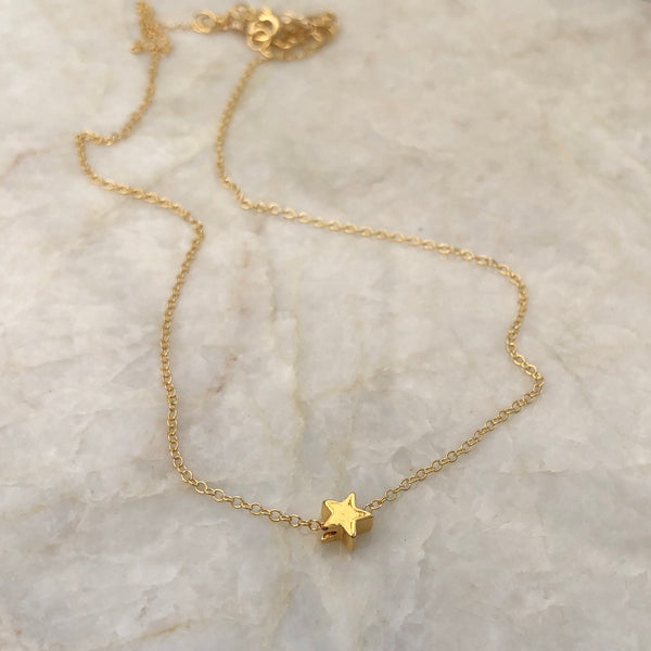 Tiny Star Choker Necklace - im keepsakes