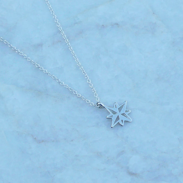 North Star Necklace  |  Gold or Silver