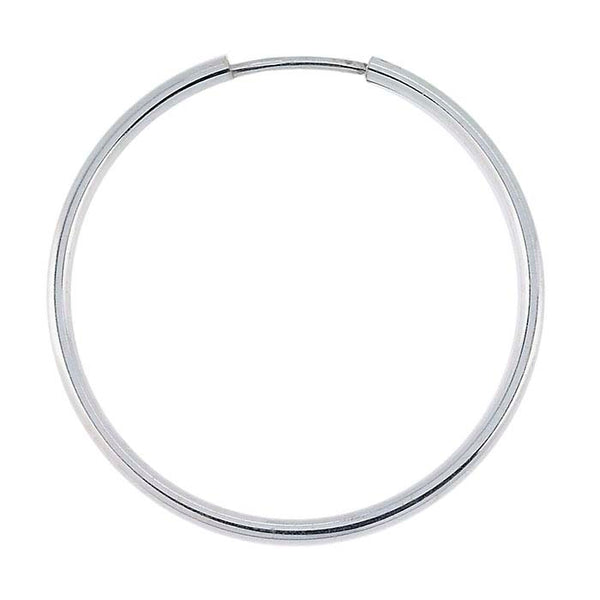 Sterling Silver Endless Hoop Earrings - im keepsakes