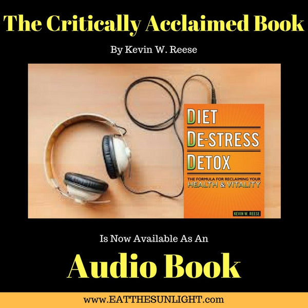 Diet, De-Stress, Detox - Mp3 Audio Book