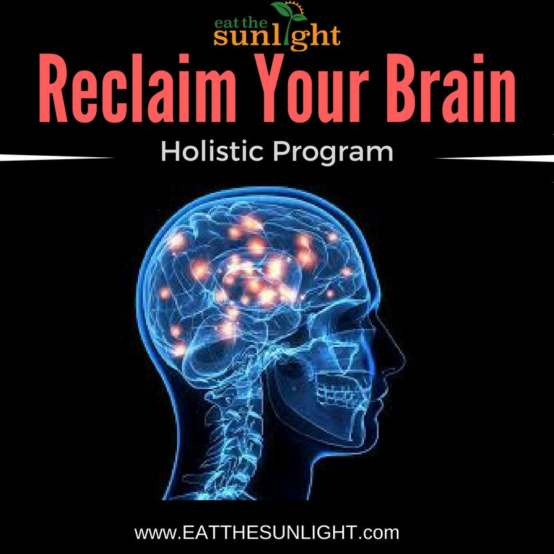 Reclaim Your Brain Holistic Program (3 Mo Supply of Tea Included)
