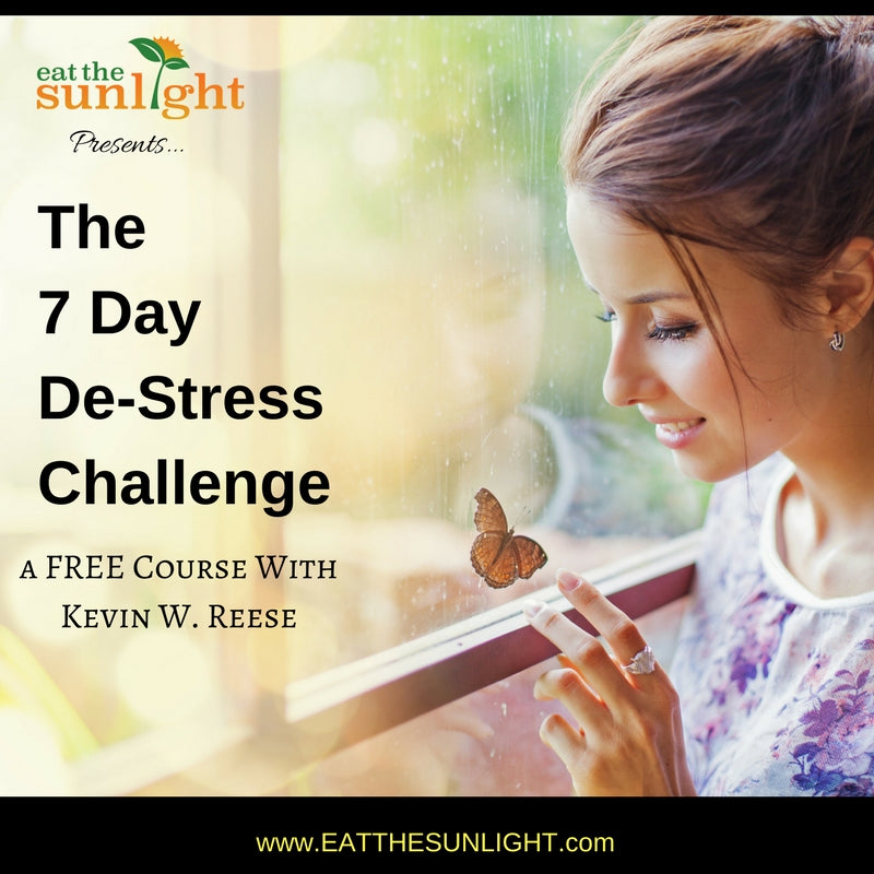 7 Day De-Stress Challenge: A FREE Course w/ Kevin W. Reese